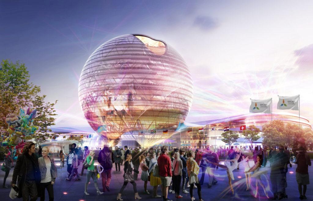 Gordon Gill - 2 Astana Expo City 2017
