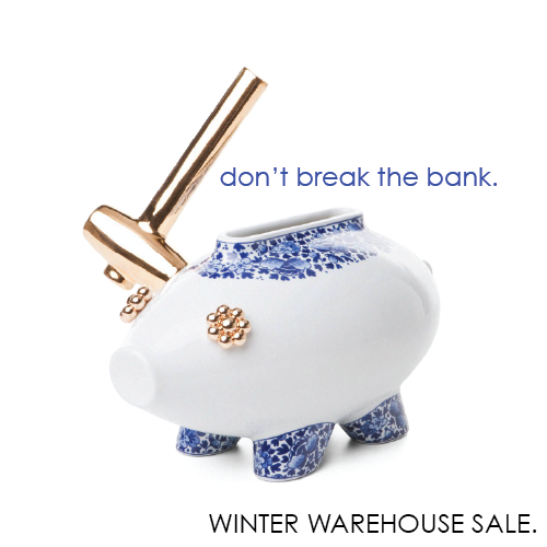 Scott and Cooner's Winter Warehouse Sale