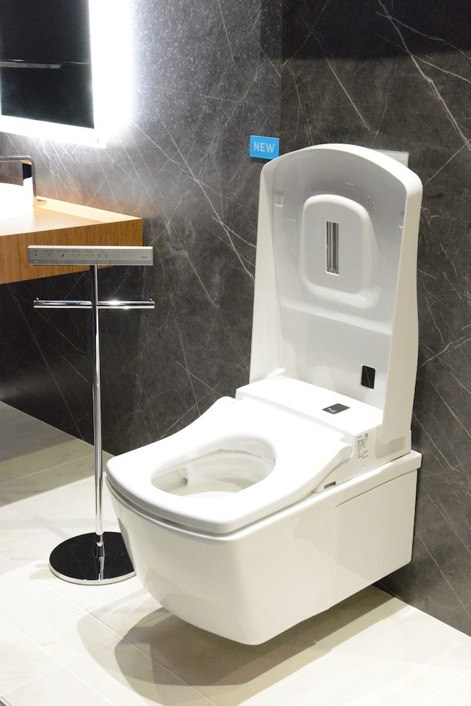Toto features new automation in their toilet designs Photo: Lisa Stewart Photography