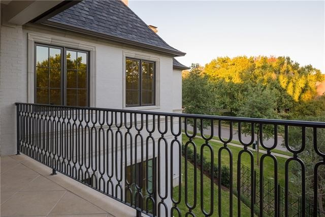 University Park French Contemporary balcony