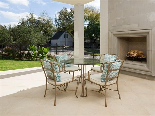 University Park French Contemporary outdoor fireplace16r