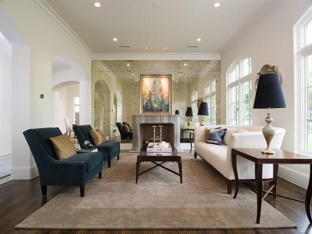 University Park French Contemporary living 6al-m2r