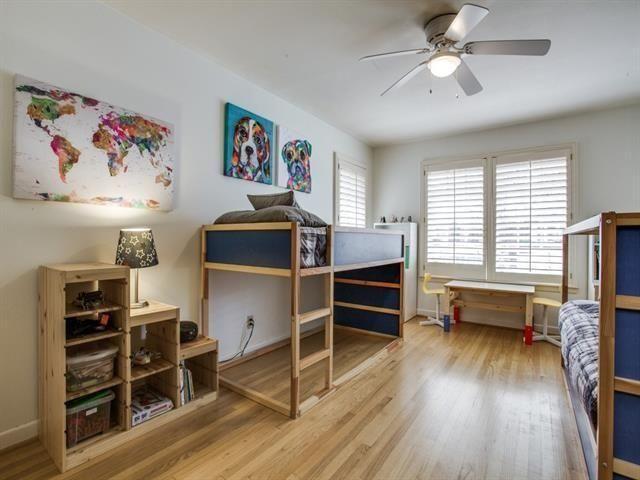 816 Monte Vista kids bedroom