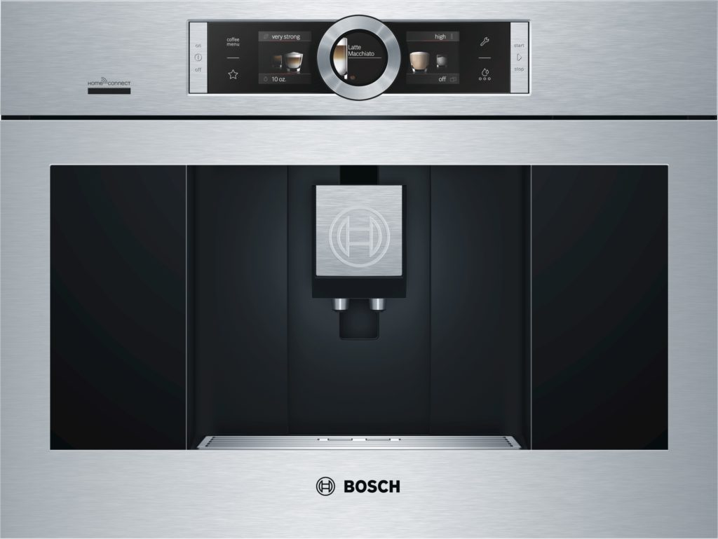 The Built-In Coffee Machine with Home Connect by Bosch Photo: Bosch US