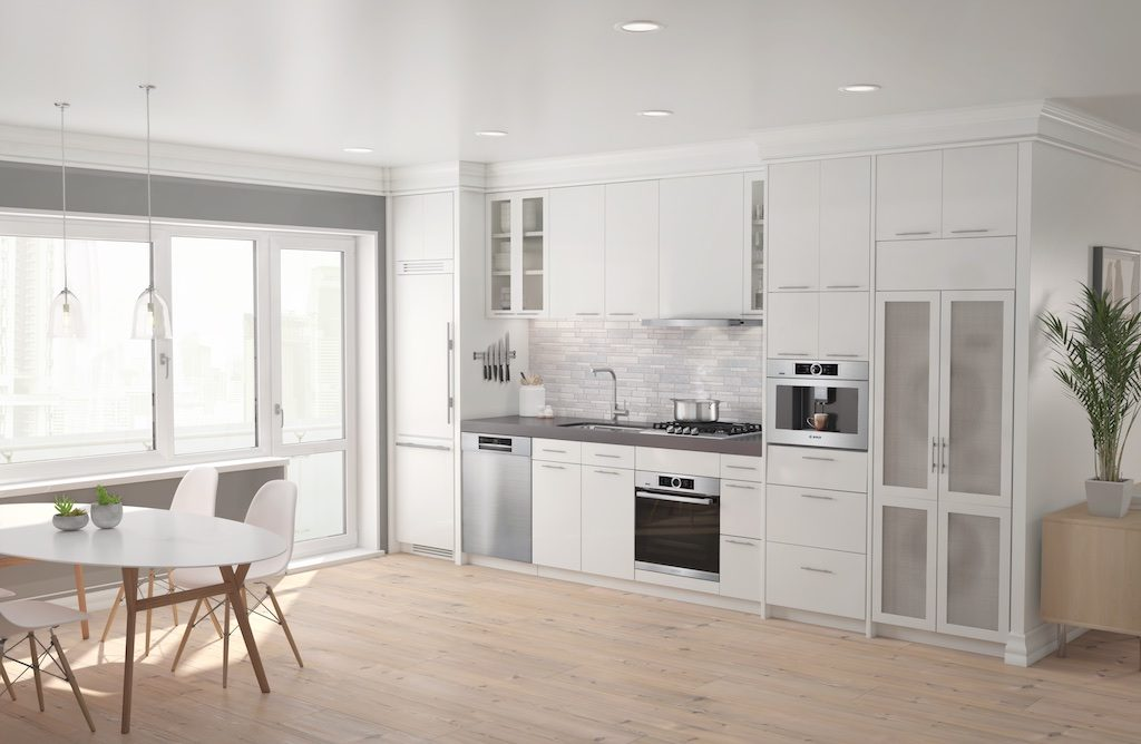 The Bosch Home Connect Kitchen Photo: Bosch US