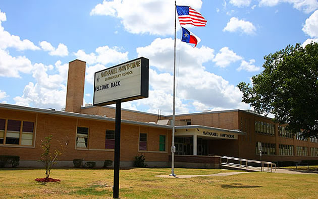 Hawthorne Elementary will be moved up on Dallas ISD's revised list of campuses that will be improved as part of the 2015 bond program. (Photo courtesy Dallas ISD)