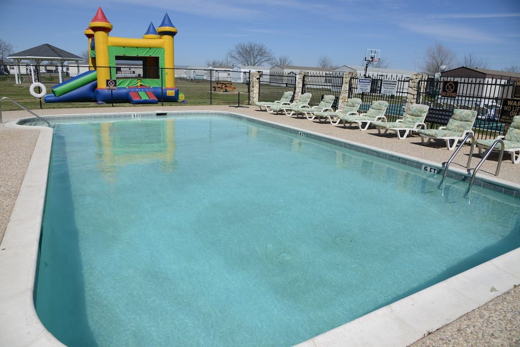 Pool and playground area at The Crossings Photo: Lisa Stewart Photography