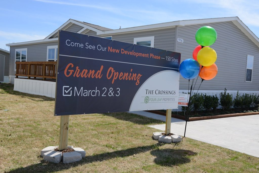 The Crossings will be adding 150 homes to their community. Photo: Lisa Stewart Photography