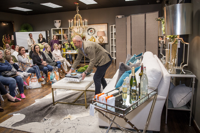 James Turner demonstrates how to add depth to your interiors at the IBB Day of Design Feb. 25.