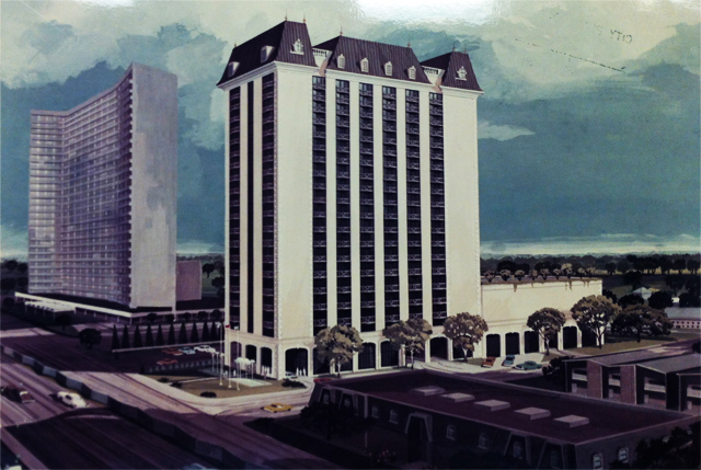 Original 1970s High-Rise Planned for Preston Place Lot