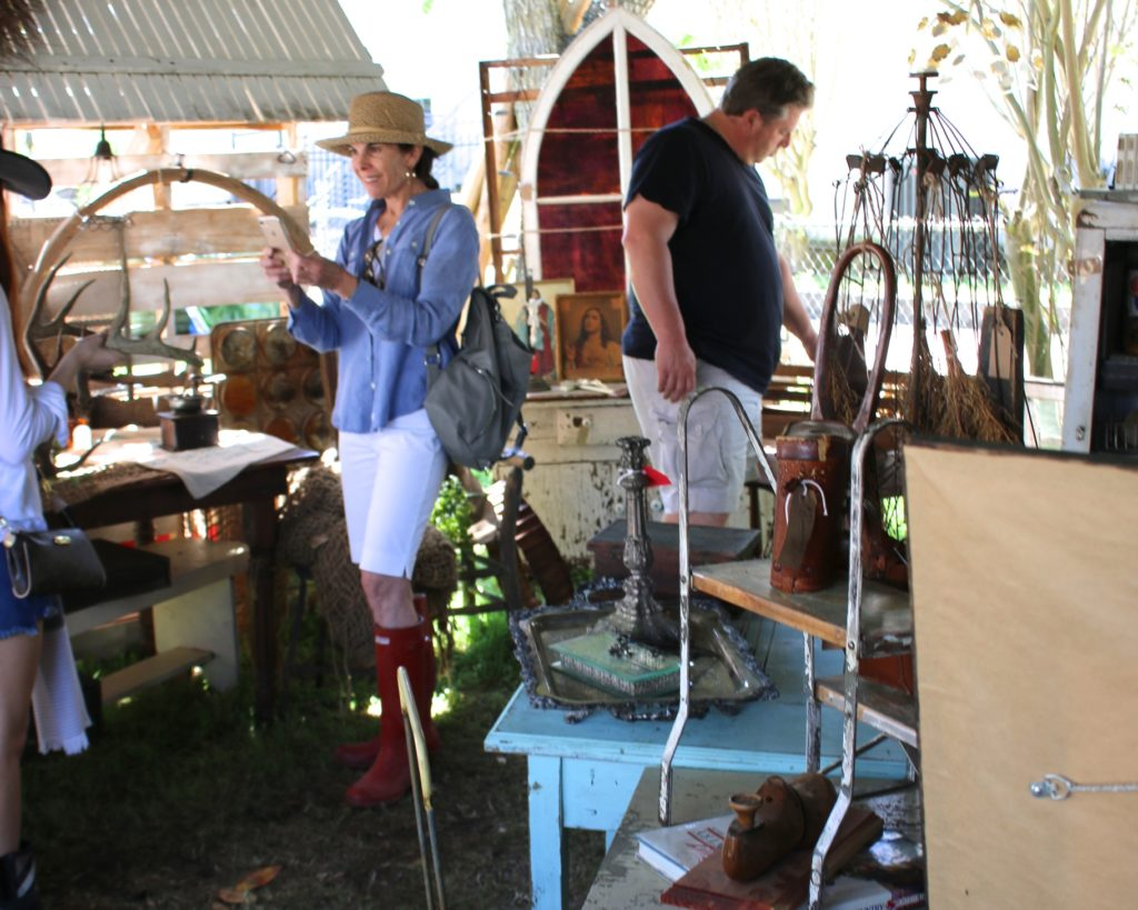 Country Dirt booth at Round Top Antique Show Photo: Lisa Stewart Photography