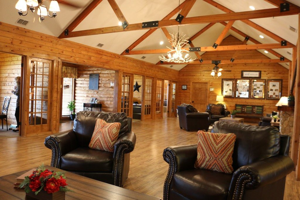 An award winning clubbhouse at Eagle Creek Ranch - a YES! Community. Photo: Lisa Stewart Photography