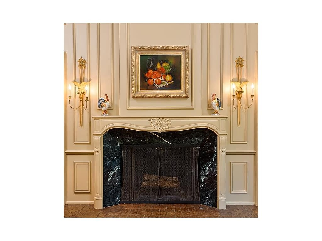 4248 Armstrong fireplace
