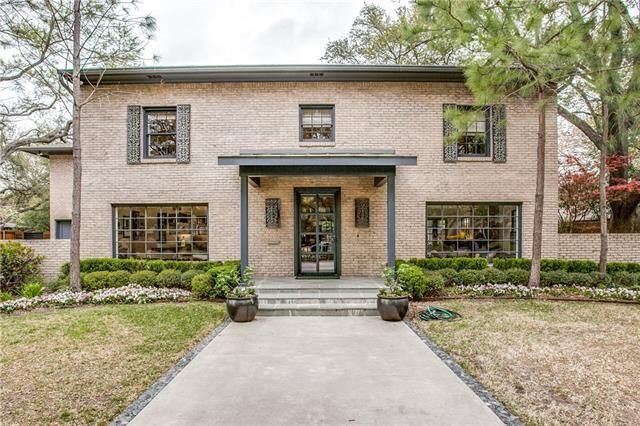Preston Hollow Midcentury Traditional 6231 Desco Dr. 2