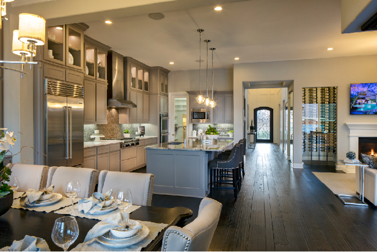 Best Interior Merchandising $600,001-$800,000; Toll Brothers Southlake Glen (Newcastle Mediterranean)