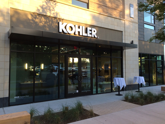 Dallas\' Plumberati Flock to Kohler\'s New Knox-Henderson Showroom ...