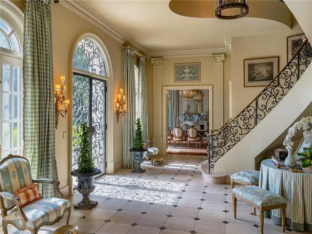 French Chateau Interior Zion Star