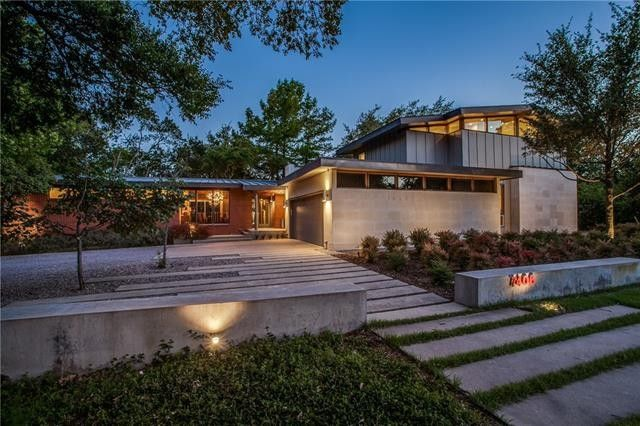 classic midcentury modern reinvented 7406 Currin Drive 1