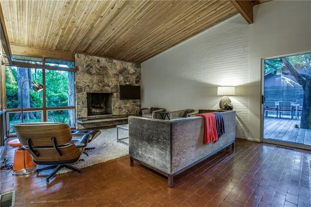 classic midcentury modern reinvented7406 Currin Drive 13