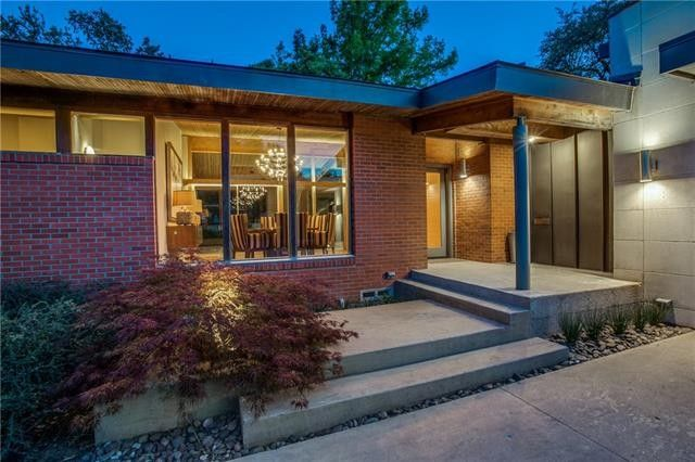 classic midcentury modern reinvented 7406 Currin Drive 3