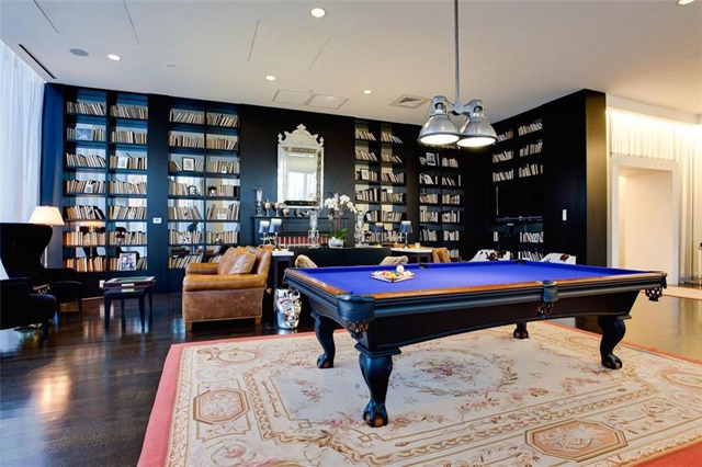 Billiards at The House, where classical and contemporary mix