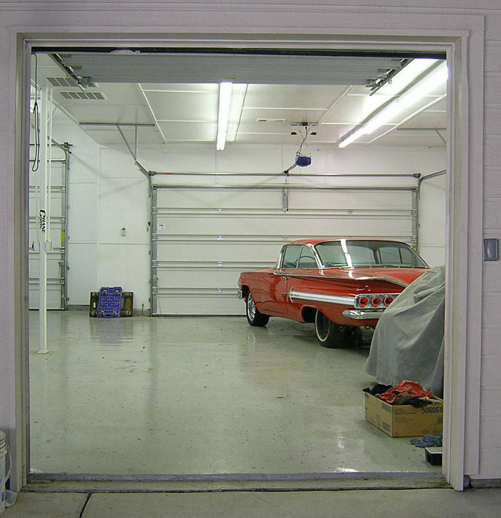 And the garage is air conditioned too!