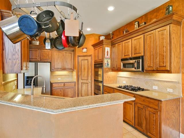 Relocating to north texas this frisco family home is a Christopher s kitchen