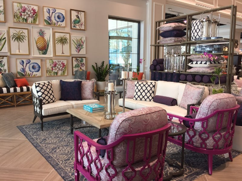 Frontgate Legacy Greets You With These Magnificent Magenta Chairs