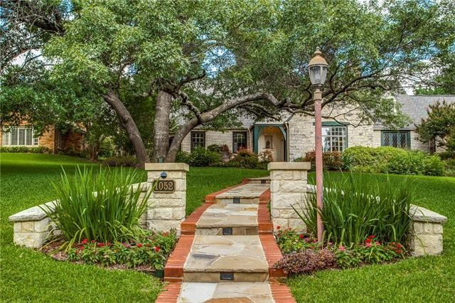 Expanded Austin Stone English Estate Home in East Kessler | CandysDirt.com