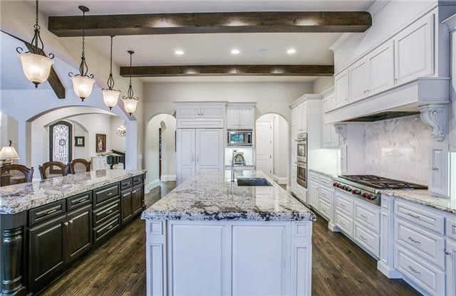 Kitchens and Bathrooms Take Center Stage in these Three DFW Luxury Homes | CandysDirt.com