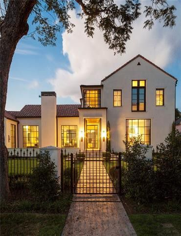 Contemporary Spanish Colonial Revival By Robert Elliott