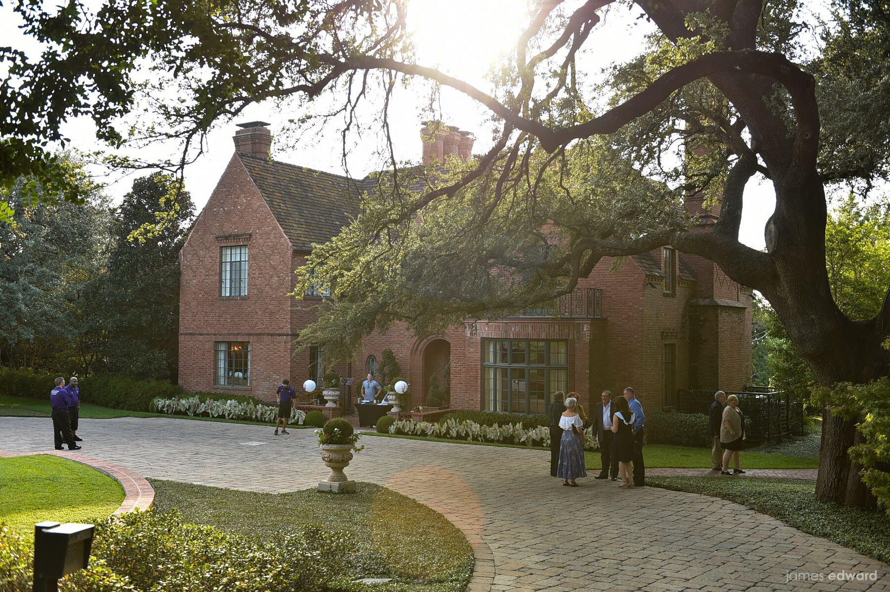 Hare & Hare Celebrated at Famous Fort Worth Mansion Bearing a ...