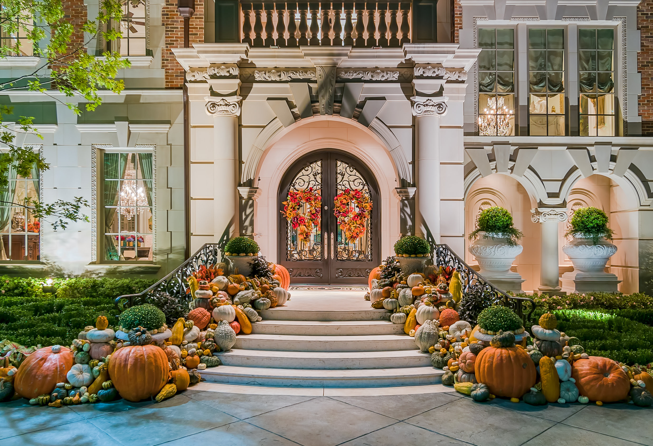 It S Decorative Gourd Season Enlist Harold Leidner For