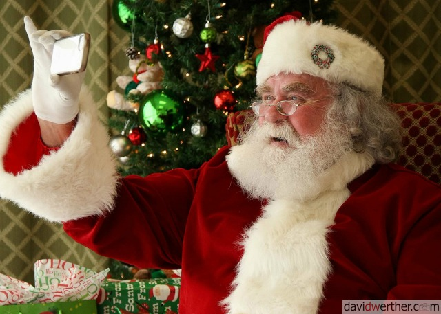 Santa Visits Local Ebby Halliday Realtors Offices this Month for Photo Opps | CandysDirt.com