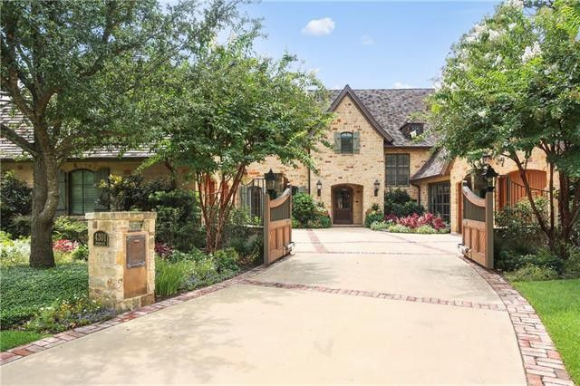 Country French estate
