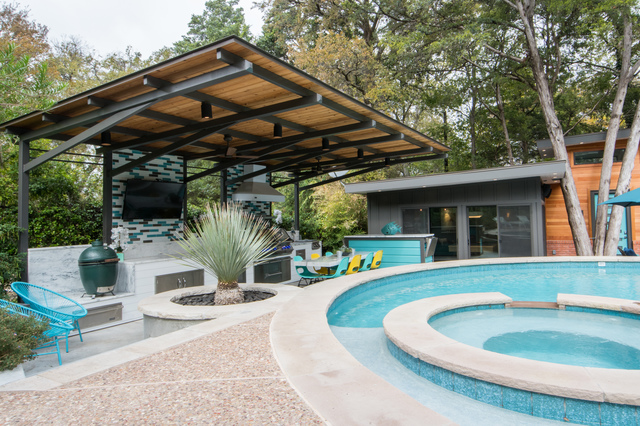 See Shawn Watkins Party Ready Midcentury Modern On The
