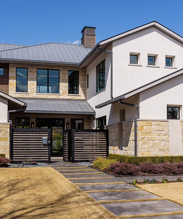 Bluffview Austin Stone Contemporary on Almost Half an Acre Goes Live Today