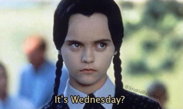 Wednesday WTF