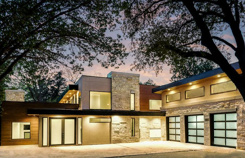 This Warm Modern Design By Richard Miller Custom Homes Is One Of Five  Luxury Homes Showcased In The Dallas Builders Associationu0027s April 7 Parade  Of Homes ...
