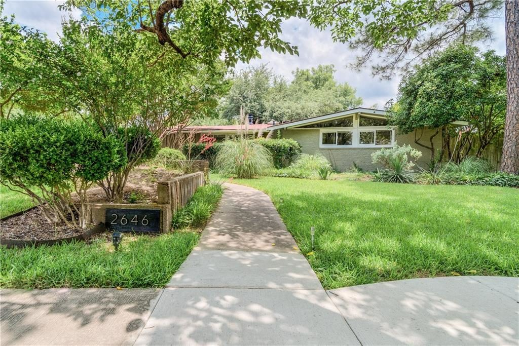 Cliff May East Dallas Home Leads the Way Among Our Dallas Open Houses | CandysDirt.com