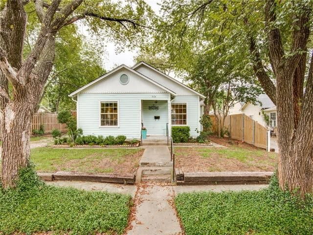 Live a Charmed Cottage Life in this Renovated House Near McKinney Square | CandysDirt.com