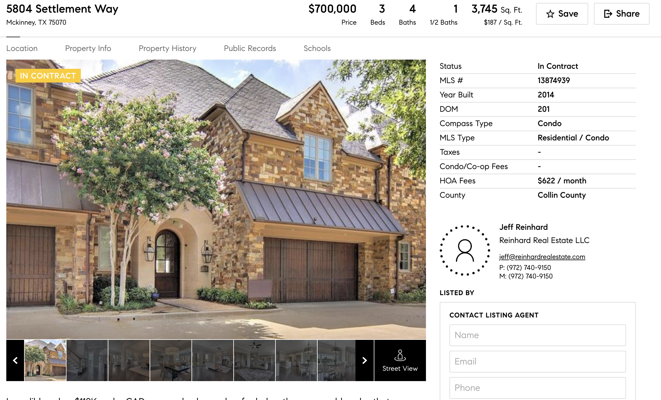 Compass Displaying Listing Agents Names Now on Consumer Website