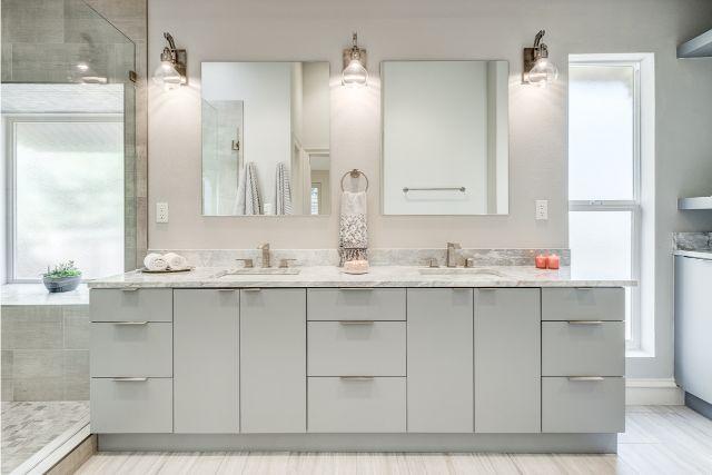 Master Bathroom Remodeling Modern Vanity Flat Panel Joseph Berry Candysdirt Com