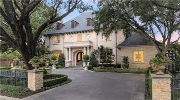 Don't Miss This Opulent Preston Hollow Home Auction Saturday by Elite Auctions