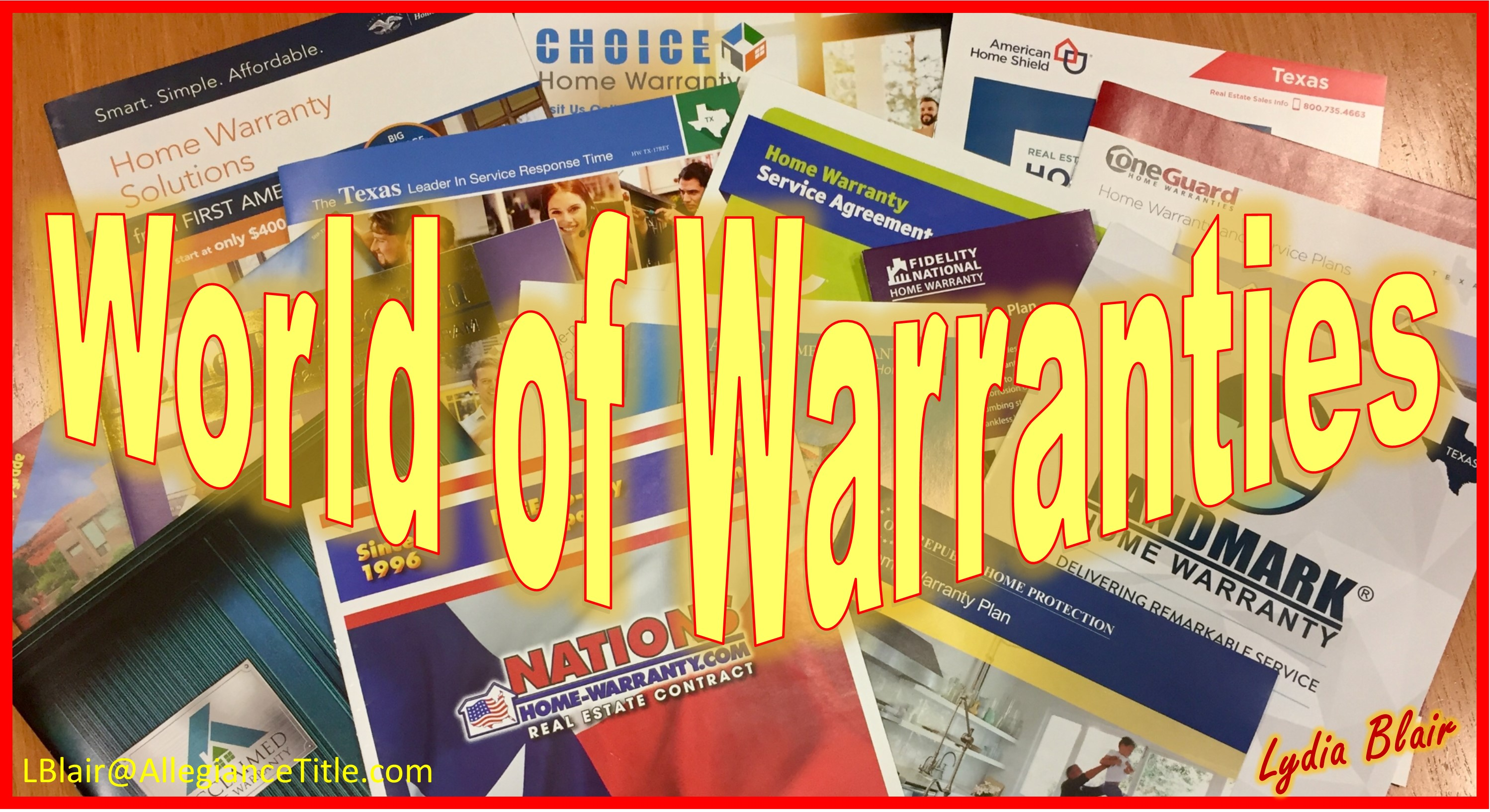 Title Tip How To Choose A Home Warranty At Closing