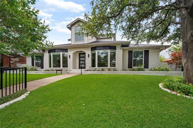 Lake Highlands updated contemporary