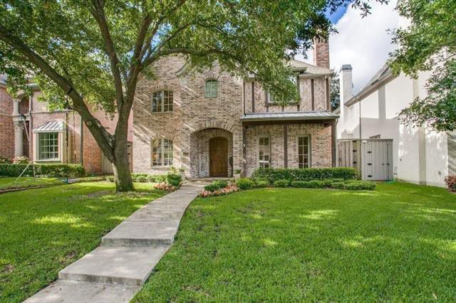 Dream big with an upscale four-bedroom beauty in Highland Park.