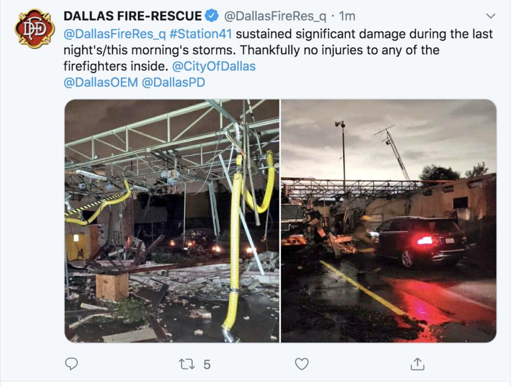 Tornadoes Strike North Dallas, Devastate Preston Royal ...