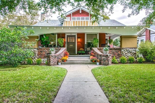 historic Craftsman bungalow