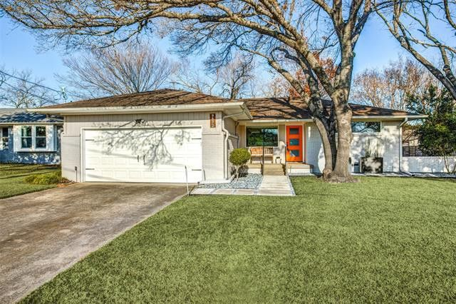 Just because this dapper three-bedroom home on Estacado Drive was constructed in 1955 doesn't mean it comes with an old-fashioned housewife who touches up her lipstick before that pot roast is served at 6 p.m.